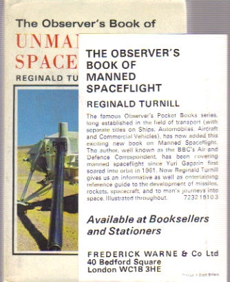 Observer's Book of Unmanned Spaceflight + slip