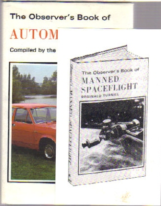Observer's Book of Automobiles with advert