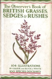 Observer's Book of British Grasses, Sedges & Rushes