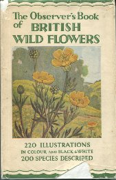 Observer's Book of British Wild Flowers