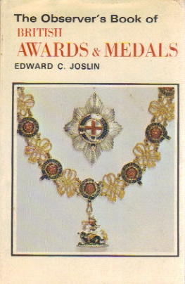 Observer's Book of Awards & medals
