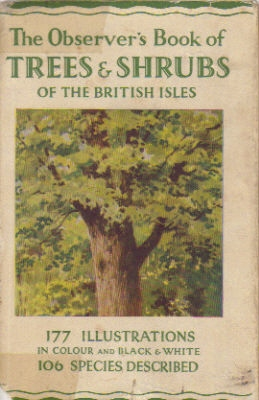 Observer's Book of trees & shrubs